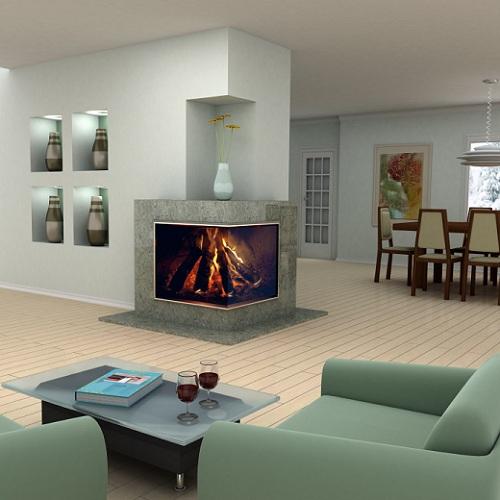 Nowoczesny kominek naro ny kominki galeria - Doing home interior design online ...